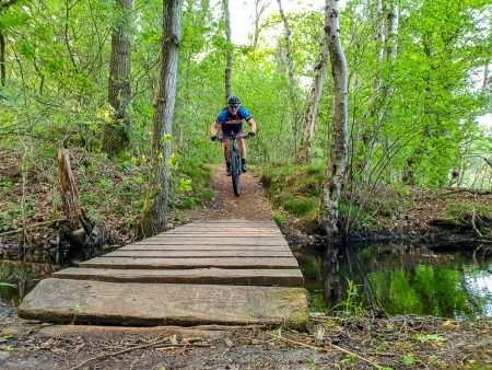 MTB Hondsrug Big 5: Slinger over uitdagende singletrails