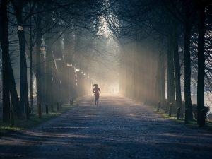 Hardlopen in het donker - Veilig en zichtbaar