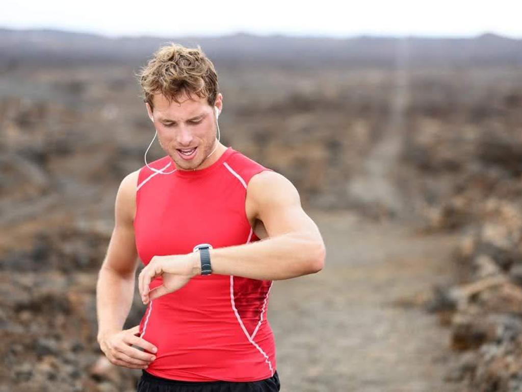 Hardlopen met een sporthorloge