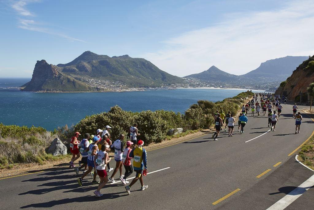Marathon Two Oceans - Met startbewijs